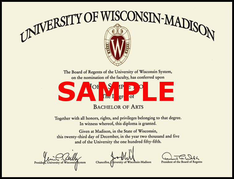 University of Wisconsin Bachelor of Science
